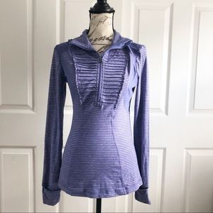 Lululemon Run Your Heart Out Zip Pullover W3250S